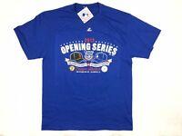 New Majestic Men's MLB LA 2013 Los Angeles Dodgers Blue T-Shirt Size Large