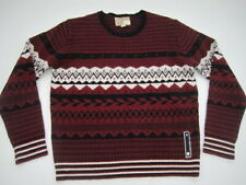 Mens XXL Diesel Lalama wool blend nordic sweater
