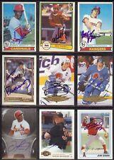 MIKE JORGENSEN Texas Rangers 1979 Topps SIGNED / AUTOGRAPH Baseball Card