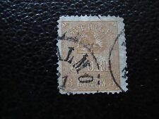 SUEDE - timbre y&t n° 12 obl (2eme choix aminci) (A03) stamp sweden