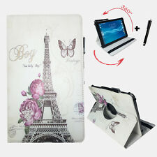 10.1 pulgadas Tablet bolso-airis onepad tab11g funda - 360 ° parís rosas motivo
