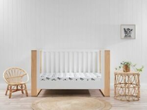Boston Cot Toddler Bed Conversion - White | Cot Conversion