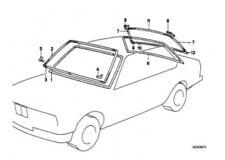 BMW E28 5er Zierleiste unten SCHWARZ 51311959726 Neu Bild Position 3