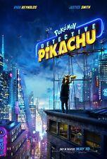 "Pokemon Detective Pikachu (2019) 11""x17"" Authentic Movie Mini Poster!! Justice"