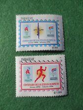 Paraguay Olympic Games Centenario DeLosJuegos Olympicos 1896 Atenas 1996 Atlanta