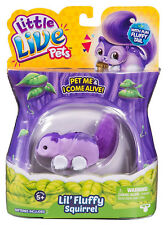 Little Live Pets Twinkle Tail Fluffy Friends Squirrel Toy - Brand New