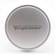 (92) Voigtländer front metal lens cap silver 43mm Ø43 NEW