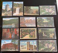Lot of 13 Original Vintage Postcards - Alabama - Birmingham, Montgomery +