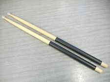 7a Hickory nylon tip drum sticks with black grip. With free Us shipping.