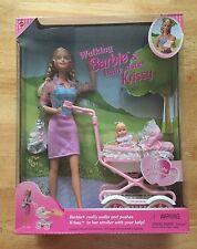 Walking Barbie and Baby Sister Krissy, NRFB 1999