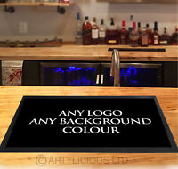 Personalised with your Logo - Pub, Hotels, Barbers, parties, venues, counter mat