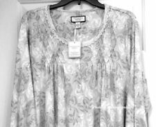 Charter Club Nightgown Womens XXL 100% Cotton Long Gown Sleepwear NEW