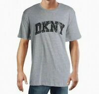 DKNY Mens Printed Logo Graphic T-Shirt Gray or White All Sizes $39