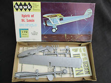 VINTAGE 1965 HAWK SPIRIT OF ST. LOUIS MODEL AIRPLANE KITMINT IN BOX UNBUILT