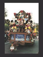 Disney Unused Postcard LE 300 Disneyland Parade Pinocchio Santa Toy Factory 1996