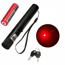 Neuer Starker High Power Laserpointer Rot mit Sicherheitsschlüssel und Akku