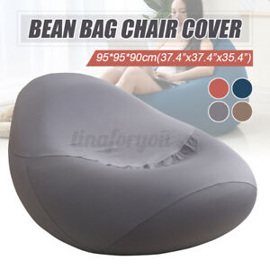Large Bean Bag Chairs Couch Sofa Cover Indoor Lazy Lounger For Adults K