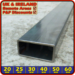 Mild Steel Rectangular Box Section ║ 20mm - 60mm ║ Hollow Rectangle ERW RHS tube