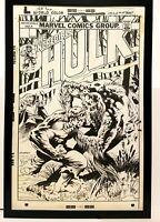 Incredible Hulk #197 by Bernie Wrightson 11x17 FRAMED Original Art Print Marvel