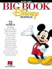 The Big Book of Disney Songs - Alto Saxophone by Hal Leonard Corporation (Paperback, 2012)