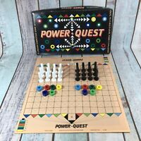 Power Quest Board Game 1980s Game Of Strategy Complete Rare