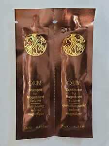 Oribe Magnificent Volume Shampoo and Conditioner Duo 7 Ml Packet Set of 2
