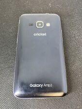 Samsung Galaxy Amp Prime 2 - 16GB - Silver (Cricket) Read Description