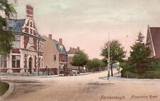 Alexandra Road Farnborough Bank old pc used 1905 Frith