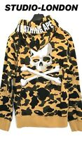 MASTERMIND X A BATHING APE JAPAN Bape Camouflage Hoody Size M Fits Like S RARE