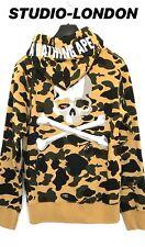 MASTERMIND X a bathing ape Japon bape Camouflage Sweat à capuche taille M convient comme S RARE