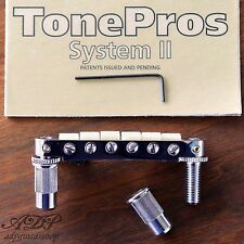 TonePros TPFPG-C CHEVALET Nashville Nylon66saddle TuneOMatic Bridge GIBSON 6.5