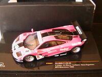 MCLAREN F1 GTR #8 BPR SILVERSTONE 1996 VOSSE MAURY LARIBIERE HANS HUGENHOTZ IXO
