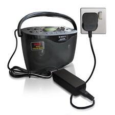 9 V Plug Cargador adaptador de fuente de alimentación para Roberts Stream WM-202 Radio DAB x1