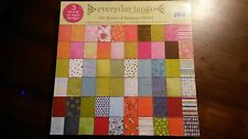 """12"""" x 12"""" SCRAPBOOKING PAPER *EVERYDAY TANGO * 180 SHEETS * My Mind's Eye Paper"""