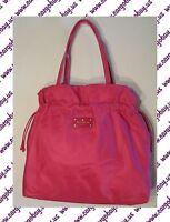 Kate Spade Large Lana Pink Berry Tote Bag Purse New Free Ship Roseland Solid