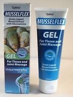 Musselflex Green Lipped Mussel Extract Gel + Glucosamine 125ml TWO TUBES