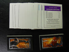 2007 Monopoly Spiderman 3 Edition Property-Chance-Community Chest Cards-All