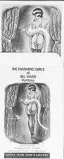 "BILL WARD PORTFOLIO -6(six) PRINTS11""w X 14""h OF  TELEPHONE GIRLS -B/W HALF TONE"
