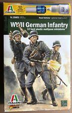 ITALERI 15601 - WWII GERMAN INFANTRY - 28mm PLASTIC KIT