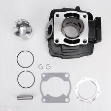 66mm Engine Aluminum Cylinder Piston  Barrel Assembly Kit Fit for Yamaha DT175