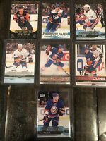 Huge Lot Of 7 Upper Deck Young Guns New York Islanders 2010-20