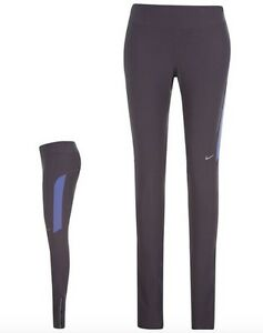 Nike Ladies Filament Running Jogging Trousers Long Purple Size L Or XL New With