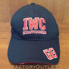 iwc schaffhausen luxury black and red 68 cap hat very rare 2016