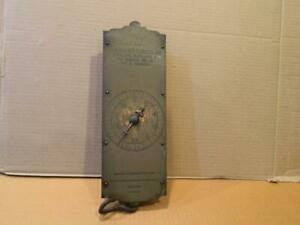 Chatillon's Spring Balance Brass Weight Scale w/ Dial , Up to 60 lb.  Antique