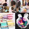 Women Girls Elastic Hair Ties Hair Band Ropes Hairband Ponytail Holder 6pcs/set