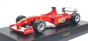 1/64 Kyosho F1 FERRARI F2002 #1 SCHUMACHER diecast car model