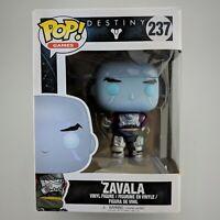 Funko Pop Games 237 Destiny Zavala Vinyl Action Figure Open Box Excellent Shape