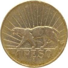 L4296 Uruguay 1 Peso 1942 Silver Argent -> Make offer
