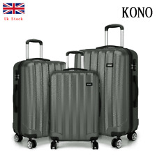 Hard Shell Cabin Suitcase Travel Luggage Trolley Case Spinner Baggage Grey