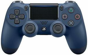 PlayStation 4 DualShock 4 Midnight Blue Controller [Sony PS4 Wireless Remote]